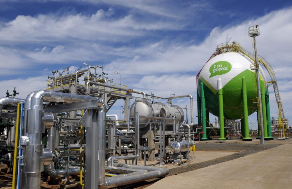 BRASKEM green ethylene plant in Triunfo (Photo: Mathias Cramer)