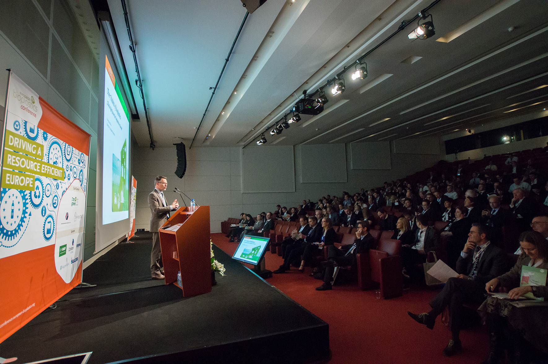 Impressions from last year's 9th European Bioplastics Conference (© European Bioplastics)