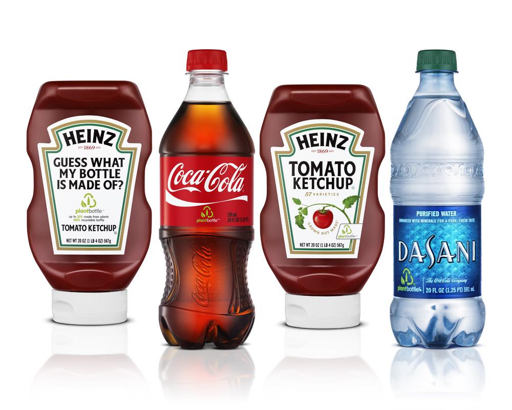 Plant Bottle (c) Coca Cola