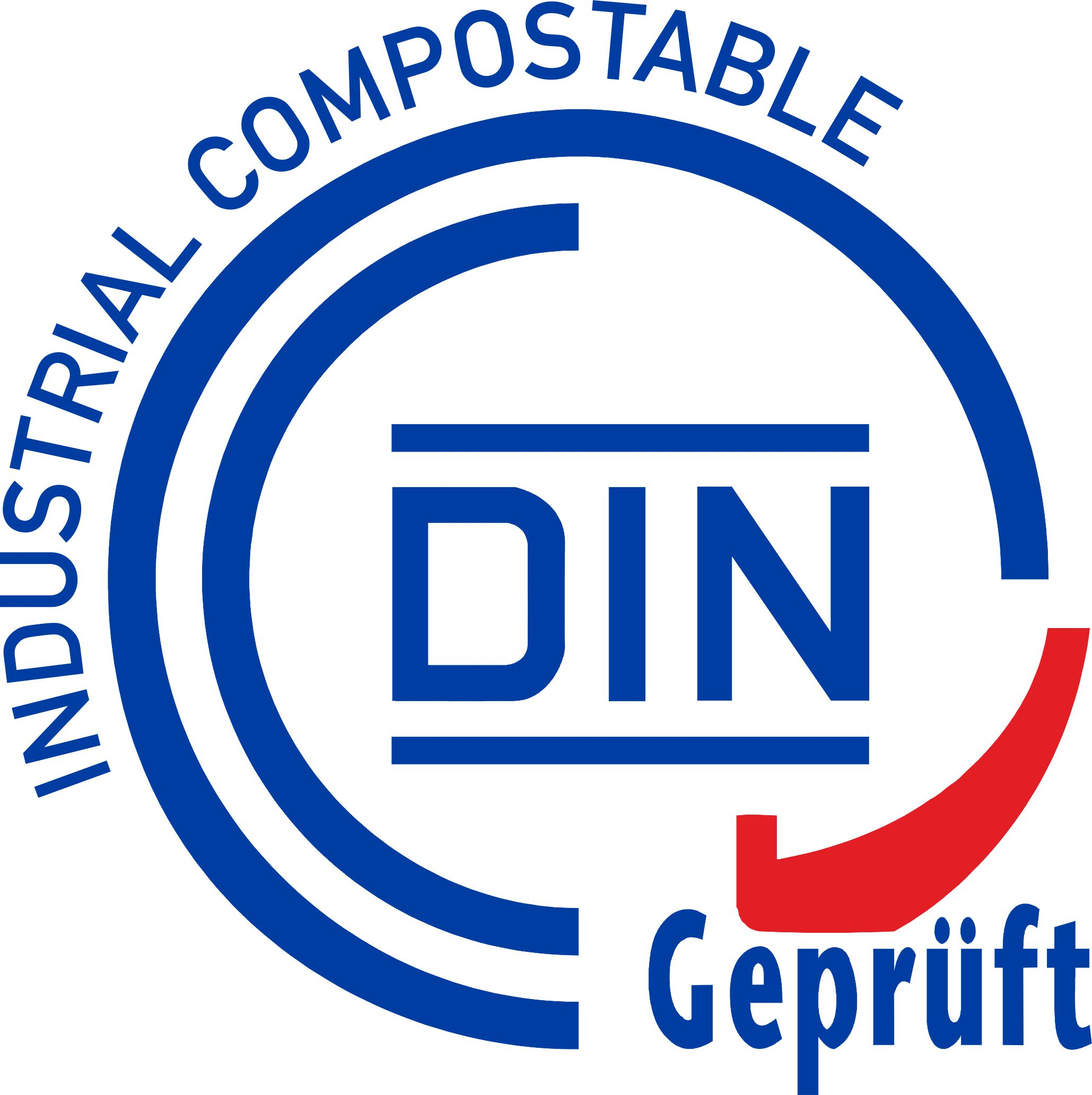 DIN Industrial Compostable