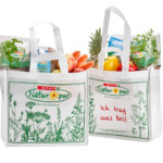 SPAR permanent carrier bag made from PLA