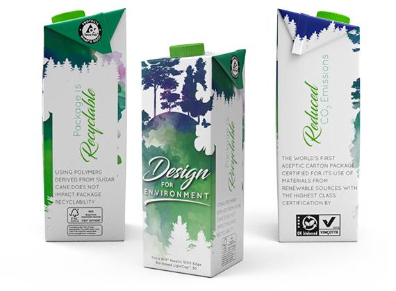 Tetra Brik® Aseptic 1000 Edge Bio-based LightCap™ 30 © Tetra Pak