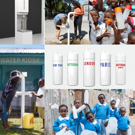 Join the Pipe: Dutch start-up attacks plastic pollution with tap water in stylish Bio PE bottles